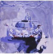 Mobil Porsche GT1 - Winning Car 1998
