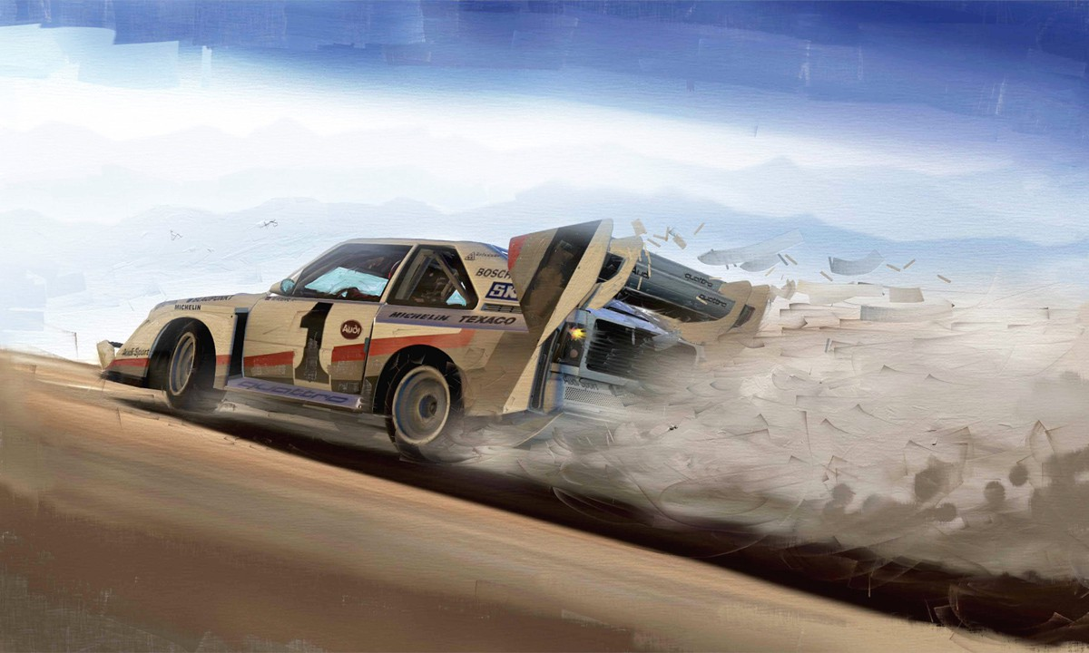 Race To The Clouds: Walter Röhrl im Audi Quattro
