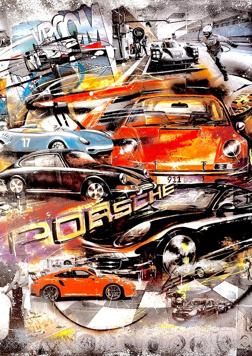 Timeline Porsche 550 - 1953 to Porsche 911 (991) 2011