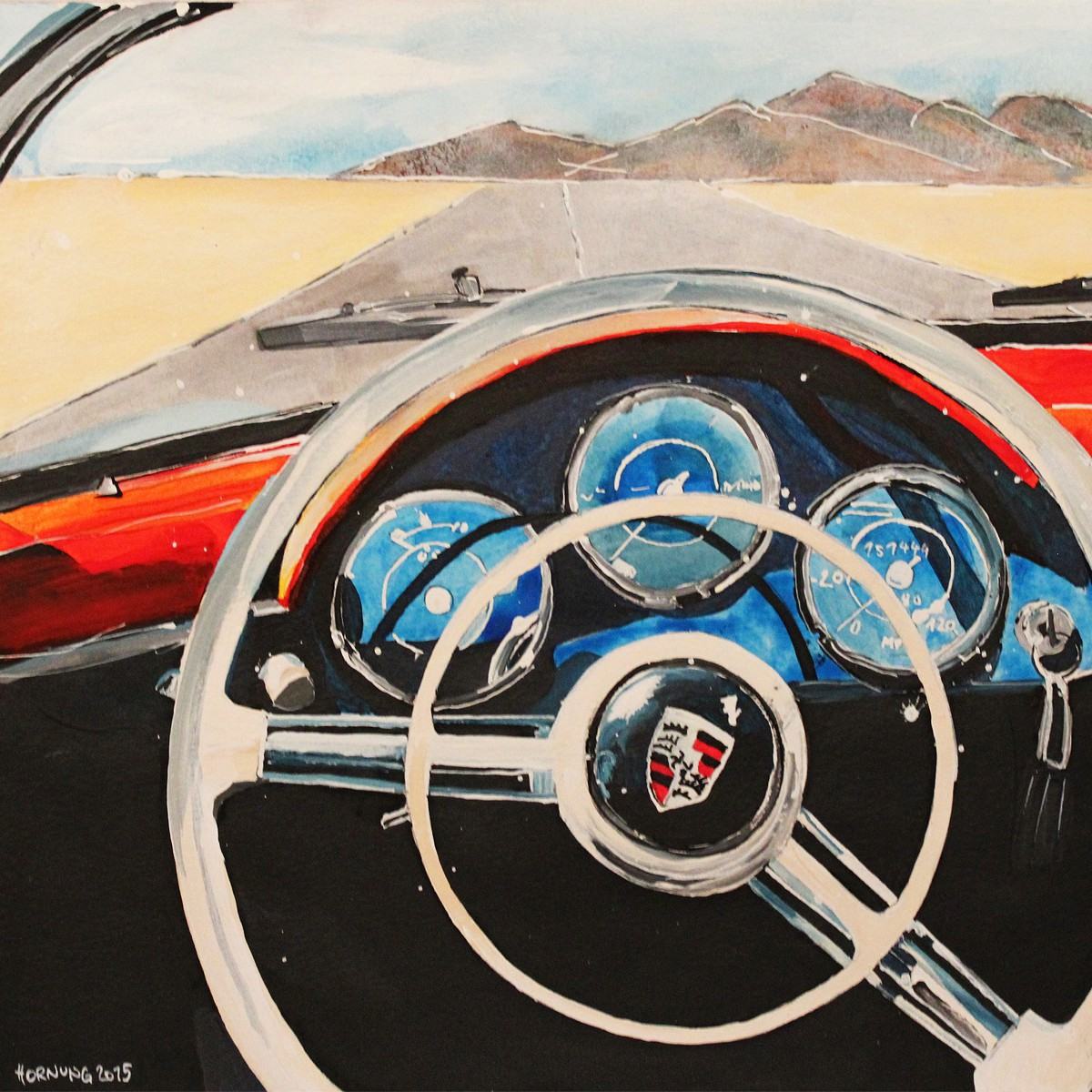 California 356 Porsche Dreamin'
