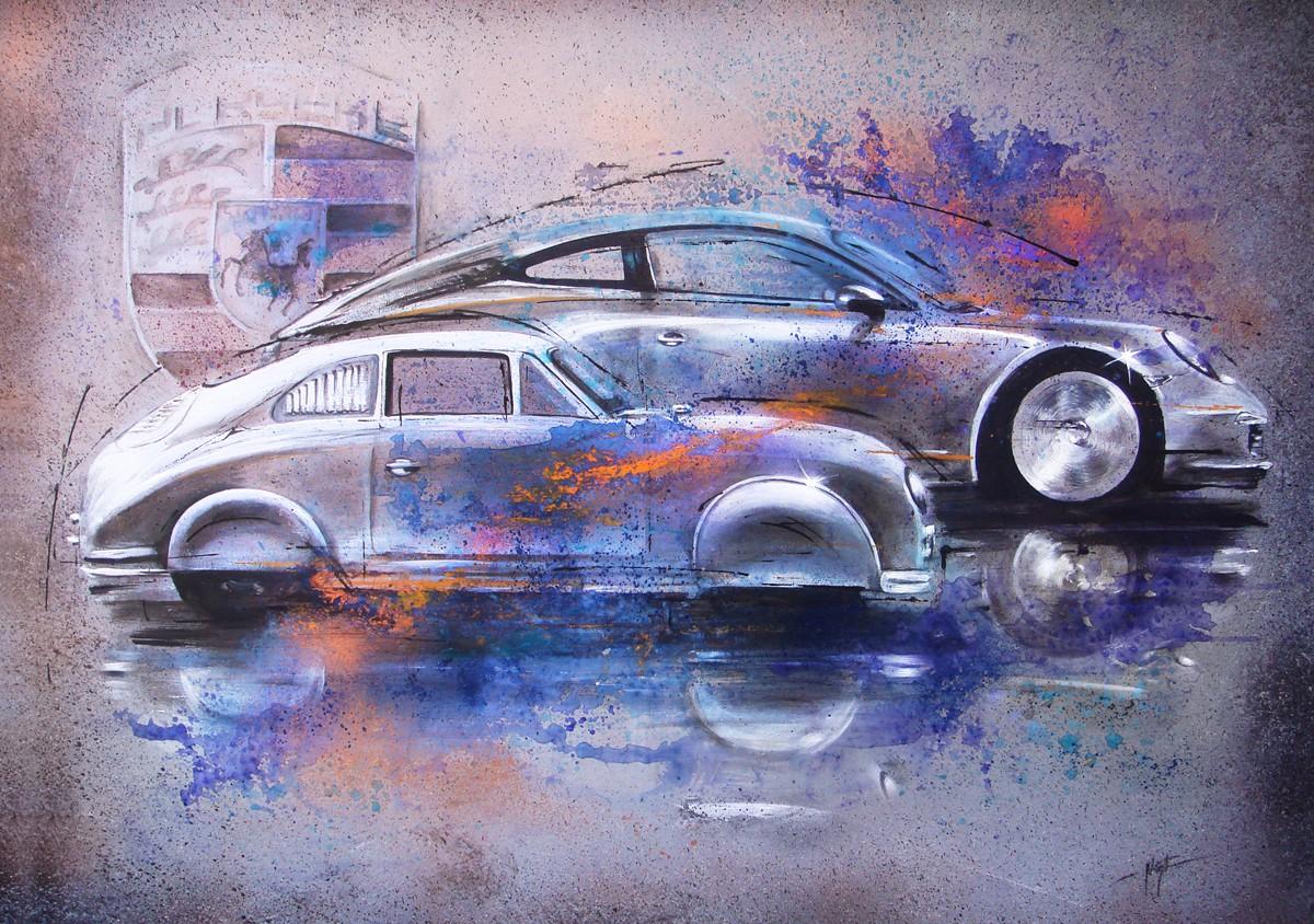 Porsche 911 verso 356