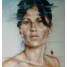 Cesar Biojo: Rocio 15, Original in Öl auf Leinwand, 2012