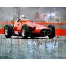 Markus Haub: Maserati 250F. Kompletettes Motiv..
