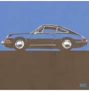 Porsche 911 Grey Blue 1963 - Typ 901 C03 3/25