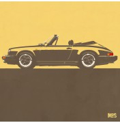 Porsche 911 Light Orange 1983 - SC Cabrio 1983 C06 6/25