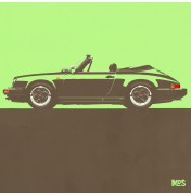Porsche 911 Light Green 1983 - SC Cabrio 1983 C09 9/25