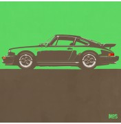 Porsche 911 Green 1974 Turbo - C10 10/25