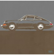 Porsche 911 Dark Grey 1963 - Typ 901 C13 13/25