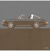 Porsche 911 Dark Grey 1967 - Targa 1967 C13 13/25