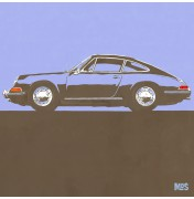 Porsche 911 Light Blue 1963 - Typ 901 C19 19/25