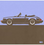 Porsche 911 Light Blue 1983 - SC Cabrio 1983 C19 19/25
