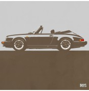 Porsche 911 Light Grey 1983 - SC Cabrio 1983 C21 21/25