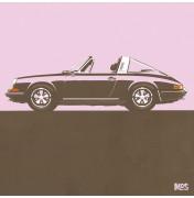 Porsche 911 Light Pink 1967 - Targa 1967 C25 25/25