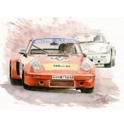Porsche 911 RSR Le Mans 1975