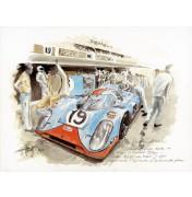 Gulf Porsche 917 K – Die Le-Mans-Legende 1971 II.