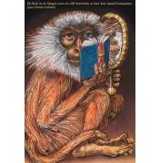 """Rainer Ehrt: """"Lichtenbergs Affe"""", Motivausschnitt"""