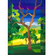 """Sigrid Eilert: """"Der alte Baum"""", Motivausschnitt"""