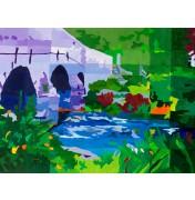 """Sigrid Eilert: """"Postbridge in Dartmoor"""", Motivausschnitt"""