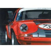 Porsche 911 RSR red