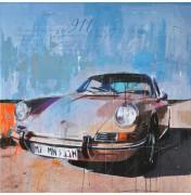Porsche 911 brown