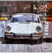 Markus Haub: Porsche 911 (Ur-Elfer). Komplettes Motiv.