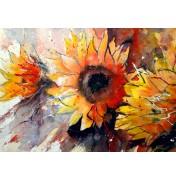 Gerard Hendriks: Flowers for a smile. Komplettes Motiv.