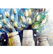 Weiße Tulpen (Tulipani Bianchi)