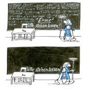 """Barbara Henniger: """"Wisch und weg"""", Motivausschnitt"""