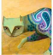 "Carlos C. Lainez: ""The Pattern Cat"", Detail"