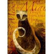 """Carlos C. Lainez: """"Polyglot Cat"""", komplettes Motiv"""