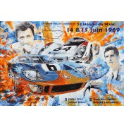 Ford GT40 Jacky Ickx Le Mans 1969 - Winning Car