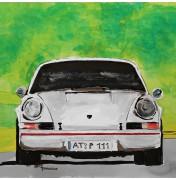 White Porsche 911