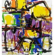 """Alberto Saka: Orginal Acryl auf Leinwand """"Fashion"""", 2011"""