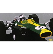 Jim Clark im Lotus 49 - 1967