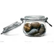 Johannes Wessmark: Steine im Glas - Stones in Glas