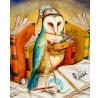 """Agnes Boulloche: """"La Chouette Peintresse"""", komplettes Motiv"""