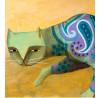 """Carlos C. Lainez: """"The Pattern Cat"""", Detail"""