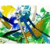 "Alberto Saka: ""Green Surfer"", komplettes Motiv"