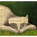 The Book Cat - Literarische Katze