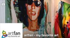 Facebook Artfan über 2000 Fans