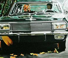 aaron vidal classic cars-kunst online kaufen