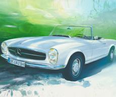 deitmar finger mercedes pagode classic cars kunst onlinekaufen