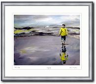Irene Mischak Gemälde Nordsee Landschaft