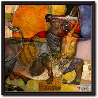 Alexander Sigov Taurus - Stier Mythologie Kunst