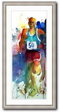 Runner der Läufer von Gerard Hendriks Kunstwerk online kaufen