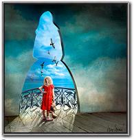 Perspectives - Die Träume der Kindheit von Igor Morski als digitale Kunst