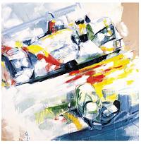 Yahn Janou Audi R8 Sebring 12 hours 2003 - Winning Car