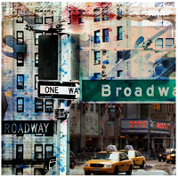 One Way Broadway kunst kaufen fotografie von Luz Graphic Studio