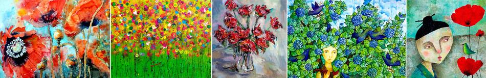 Blumenbilder und moderne Bilder von Artfan kaufen