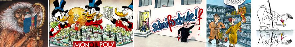 Karikatur Satire und Caroon Bilder